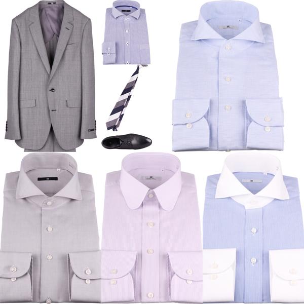 TPO・シーン別・場合によるドレスシャツ・ビジネスワイシャツの選び方