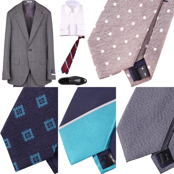 TPO・シーン別・場合によるネクタイの選び方