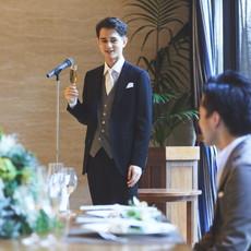 結婚式スーツの着こなしコーディネート