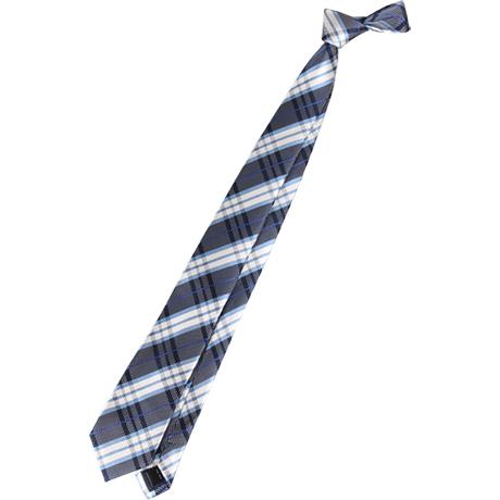neckti:チェック、シルクのネクタイ。定番、シャツにコーディネートしやすい。若々しくやる気を感じさせる。無地のジャケットやシャツとコーディネートがおすすめ。キャラクターなどの柄は奇抜なので避ける