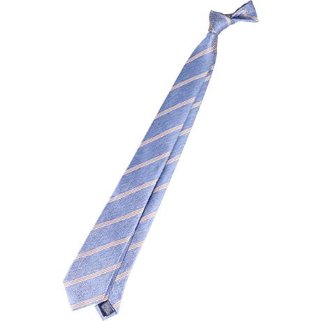 necktie:水色、薄いブルー。爽やか、勤勉、協調、清潔、知的な印象をアピール。ビジネスマンの定番カラー