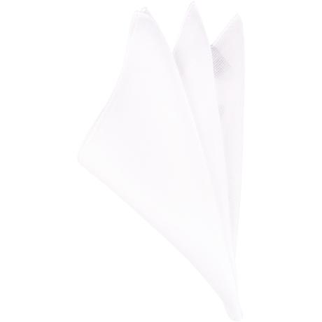 白シルクチーフ