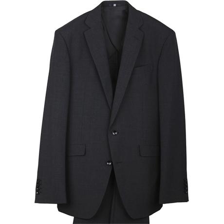 リクルートスーツ チャコールグレー
