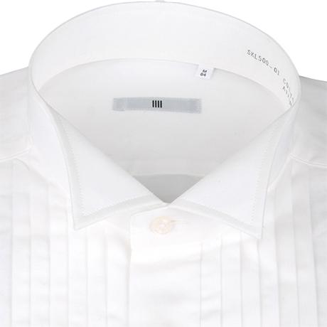 白ウィングカラーシャツ