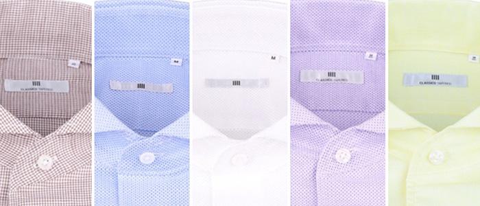 シャツ、色のバリエーション