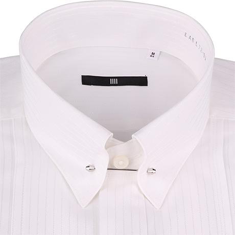 ピンホールカラーシャツ