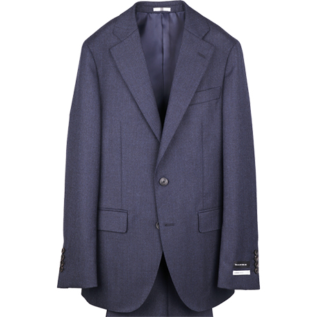 ネイビーソリッドスーツ