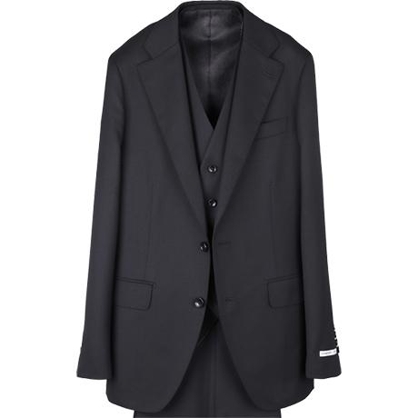 3Pブラックスーツ