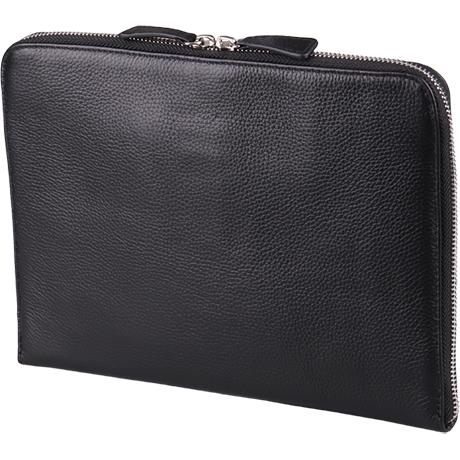 クラッチバッグ黒 A4サイズ (商品特徴)合皮/20cm×27cm×2cm