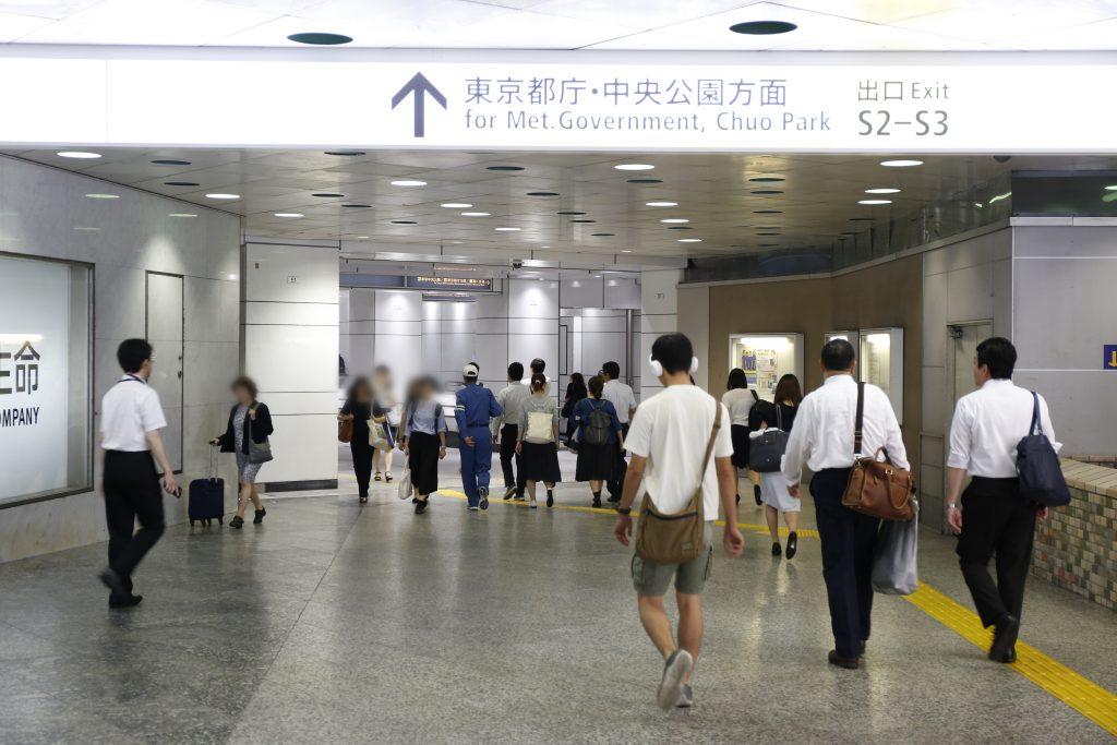 新宿駅西口地下通路