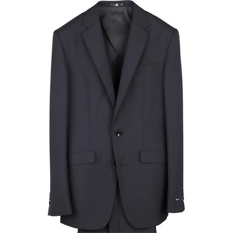 リクルートのブラックスーツ。シャワークリーン