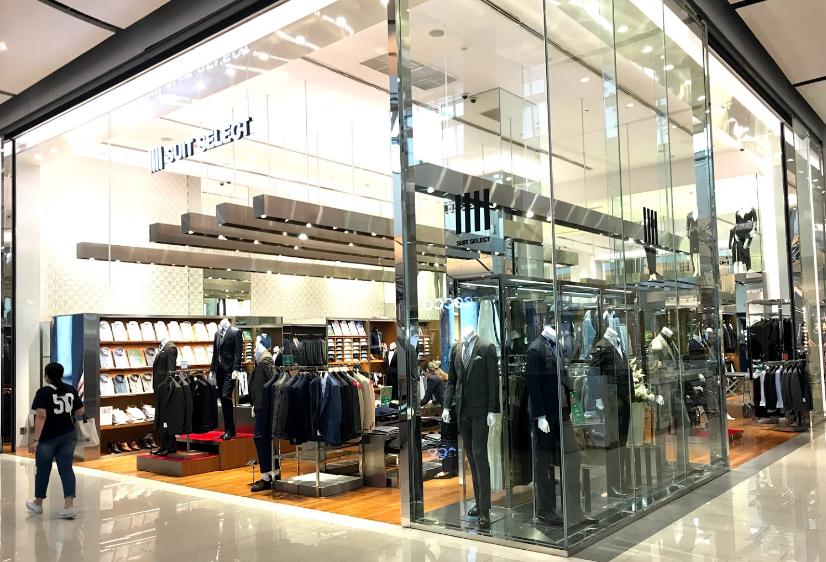 SUIT SELECT THAILAND CENTRAL WORLD店舗写真