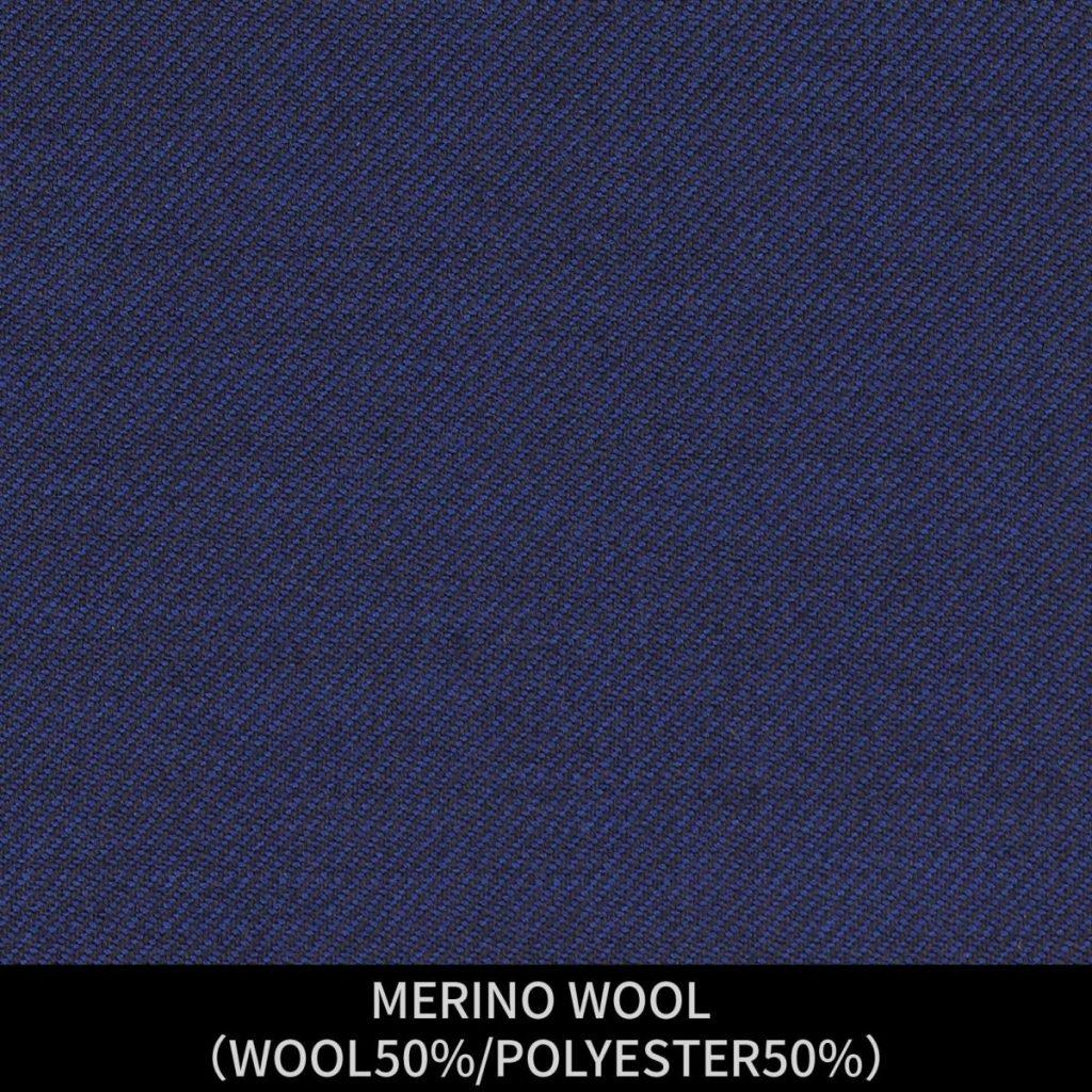 【MEN'S】【パターンオーダー】【KSW】スーツ/ネイビー/MERINO WOOL (WOOL50%/POLYESTER50%) 商品番号 KSW-086233 ¥ 38,000 +税
